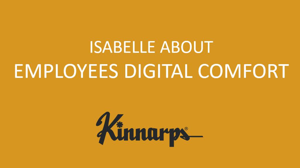 Digital Comfort Ambassador Isabelle