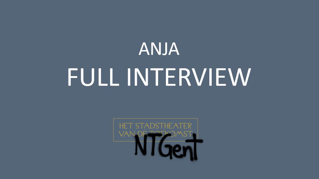 Anja NT Gent