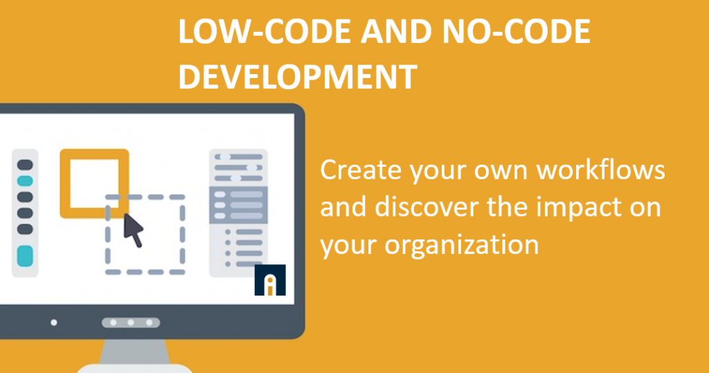 low-code and no-code development