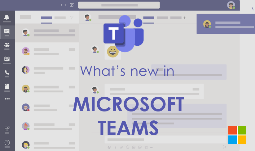 What is new in Microsoft Teams